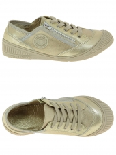 chaussures basses pataugas rap j or/bronze