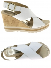 nu-pieds style ville patricia miller 382 998 blanc
