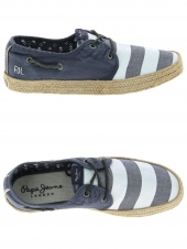 chaussures homme pepe jeans pms10189 bleu