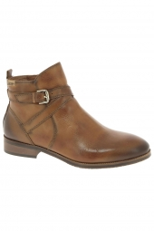 bottines de ville pikolinos royal marron