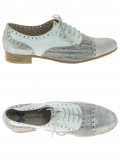 chaussures plates pinto di blu 30311 gris