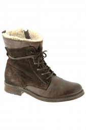 chaussures montantes fourrees post xchange messy 25 3500 marron