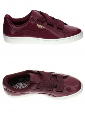 baskets mode puma heart patent wn s rouge