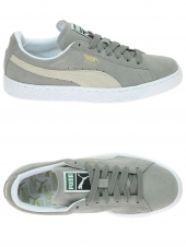 baskets mode puma suede gris
