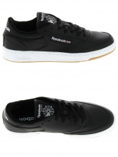 baskets mode reebok club c 85 noir