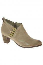 bottines d'ete regarde le ciel valery2015-22 gris