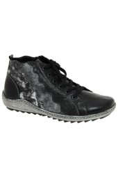 bottines casual remonte r1474-02 noir