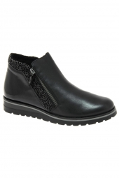 bottines casual remonte r1989-02 noir