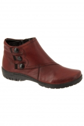 bottines casual remonte r6886-35 bordeaux