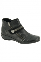 bottines casual remonte r9881-01 noir