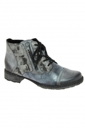 bottines fashion remonte d4378-15 gris