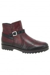 bottines fashion remonte r2278-35 bordeaux