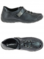 chaussures plates remonte r3401-14 bleu