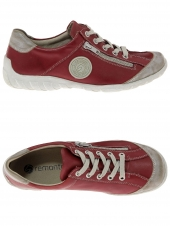 chaussures plates remonte r3408-33 g rouge