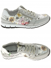 chaussures plates remonte r4009-90 argent