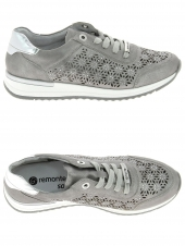 chaussures plates remonte r7004-90 gris