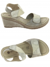 nu-pieds style casual remonte d0454-42 beige