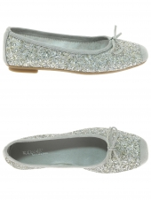 ballerines reqins harmony glitter gris