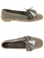 ballerines reqins helios pompon taupe