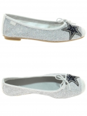 ballerines reqins higgy light argent