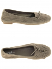 ballerines reqins hindi peau taupe