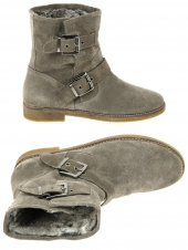 chaussures montantes fourrees reqins ryan taupe