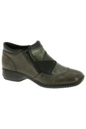 bottines casual rieker l3860-45 gris