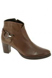 bottines de ville si ab18 marron