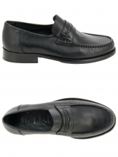 mocassins sioux ched noir