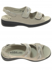 nu-pieds solidus 73111-40032 h taupe