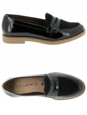 mocassins tamaris 24205-001 noir