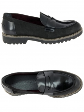 mocassins tamaris 24223-035 noir