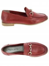 mocassins tamaris 24421-38 rouge