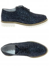 chaussures plates tango shoes bee 26-n bleu