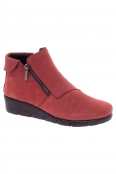 bottines casual the flexx pan pete rouge