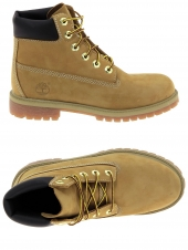 boots timberland 6in prem wheat jaune