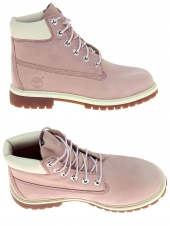 boots timberland 6in prem wheat rose