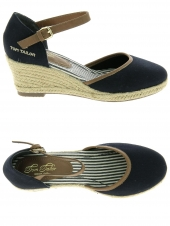 espadrilles tom tailor 2790903 bleu