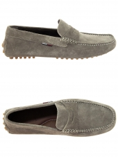 loafers tommy hilfiger fm0fm00316 taupe