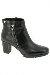 bottines de ville triver flight 665-71 noir