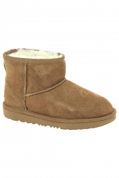 bottes fourrees ugg classic mini ii marron