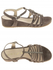 nu-pieds style ville unisa betis taupe
