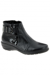 bottines casual waldlaufer 305802-257-001 h noir