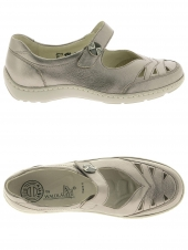 chaussures plates waldlaufer 496309 125 090 h gris