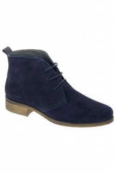 bottines casual we do 7549e bleu