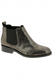 bottines de ville we do 77097g or/bronze