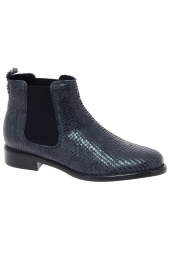 bottines de ville we do 77545 b bleu