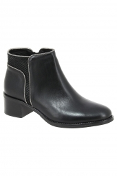 bottines de ville we do 77940 noir