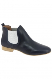 bottines d'ete we do 8476p bleu
