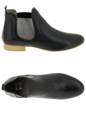 bottines d'ete we do co8476c noir